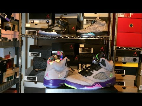 """Authentic """"Bel Air"""" Jordan 5 (V) Review (Fresh Prince Of Bel Air Jordans)"""