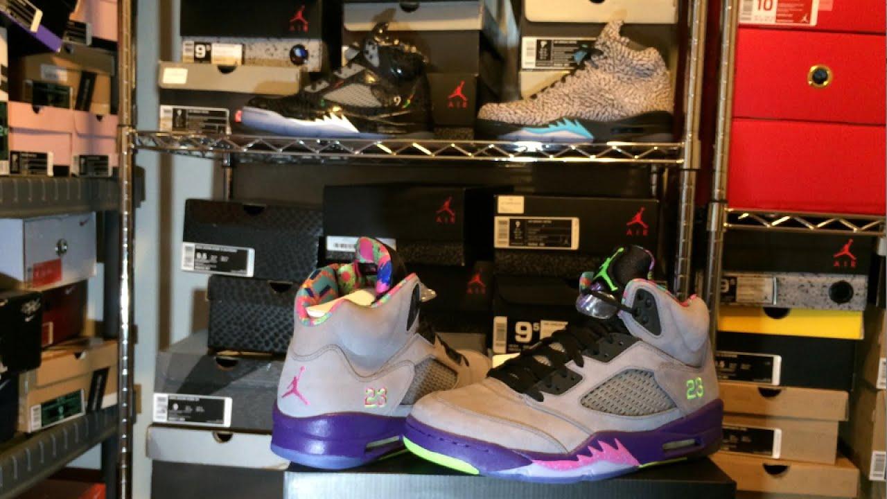 "Authentic ""Bel Air"" Jordan 5 (V) Review (Fresh Prince Of ..."