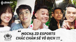 FapTV, Pewpew, Độ Mixi, Bình Gold,.... bất ngờ gửi lời chúc đến Mocha ZD Esports tại SeaGames 30