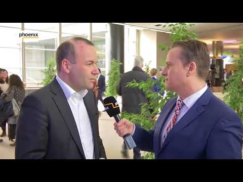 Klaus Weber im Interview mit Manfred Weber (CSU) am 01.03.18