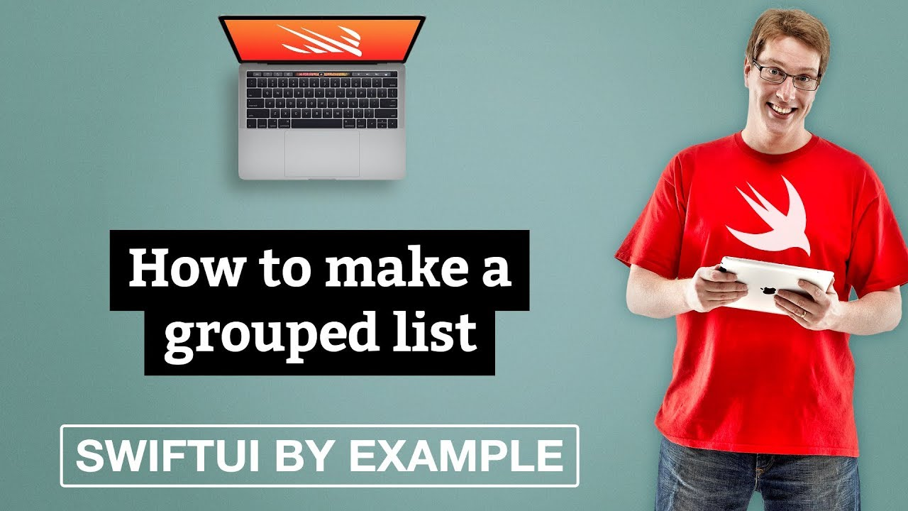 How to make a grouped list - SwiftUI by Example