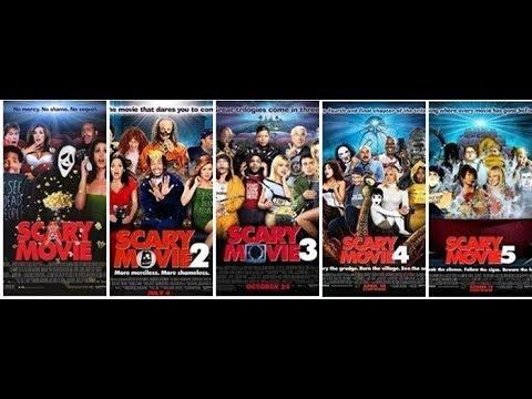 scary movie 1 2 3 4 5 trailers en castellano youtube