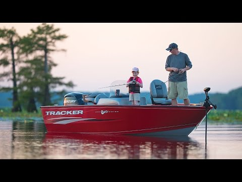 2017 Tracker Pro Guide V 175 Side Console w/ 90HP For Sale