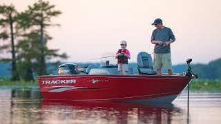 TRACKER Boats: 2017 Pro Guide V-175 SC Deep V Fishing Boat