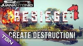 BSIEGE a construir para destruir tropas PARTE 1