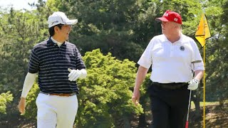 Sumo, burgers and golf on Trump's high-stakes visit to Japan