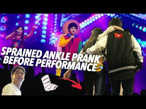 Sprained Ankle Prank (YTFFPH) | Ranz and Niana