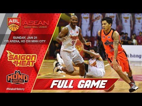 Saigon Heat vs Mono Vampire Basketball Club | LIVE NOW | 2017-2018 ASEAN Basketball League
