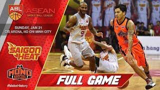 Saigon Heat vs Mono Vampire Basketball Club | FULL GAME | 2017-2018 ASEAN Basketball League
