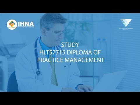 Diploma of Practice Management | IHNA
