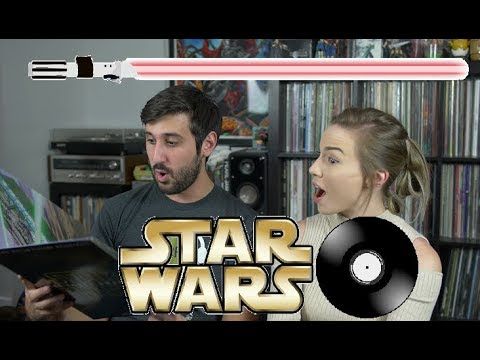 MASSIVE Star Wars Vinyl Record Collection