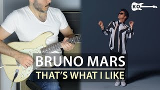 Baixar Bruno Mars - That's What I Like - Electric Guitar Cover by Kfir Ochaion