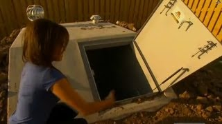 What's it like inside a storm shelter?