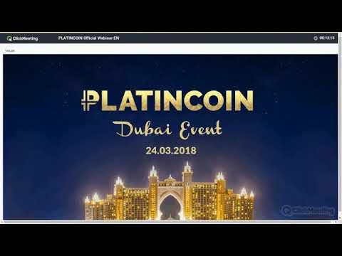 #Platincoin   #PLC   # #English   #CEO Alex Reinhardt #Dubai Event News!