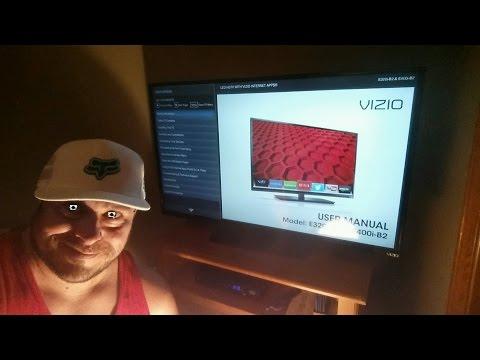 Vizio E Series 40 Inch Smart TV 1080P  ESPANOL  E320iB2