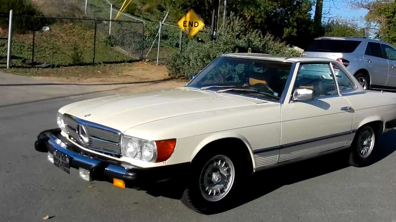 R107 mercedes benz roadster coupe hardtop convertible for Hardtop convertible mercedes benz