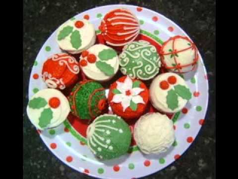 DIY Christmas cupcake decorating ideas - YouTube