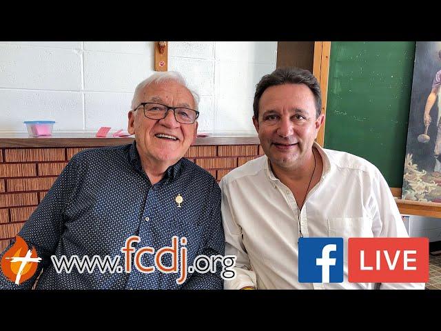 Léandre Lachance reçoit Thierry Fourchaud (Facebook Live 05/09/2019)