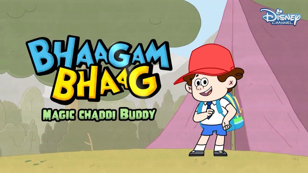 Download Bhaagam Bhaag Episode 2 - Funny Hindi Cartoon  For Kids - Disney India