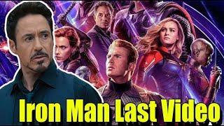Marvel universe shares last message of tony stark aka ironman | Vsquare Talkies