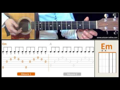 Cours de guitare Everybody hurts - R.E.M I Apprendre la guitare pour débutant. Tuto + Tab
