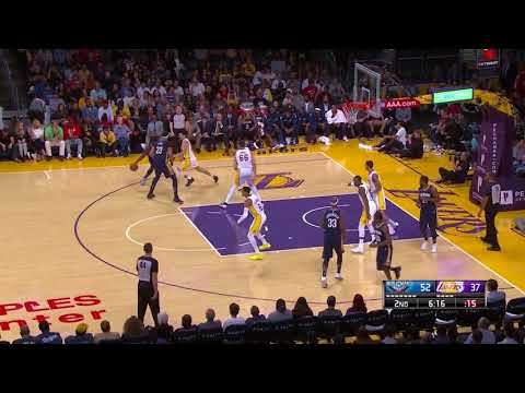 New Orleans Pelicans vs LA Lakers Full Game Highlights October 22 2017