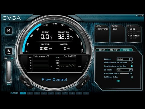 EVGA Flow Control Overview