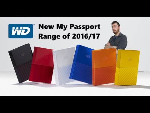 WD Release the Newest WD My Passport Range and in upto 4TB! - YouTube 0329720ba