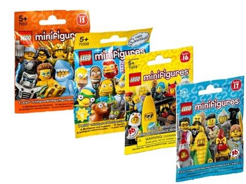 Распаковка lego minifigures (15 серия,2 серия the simpsons,16 ID410