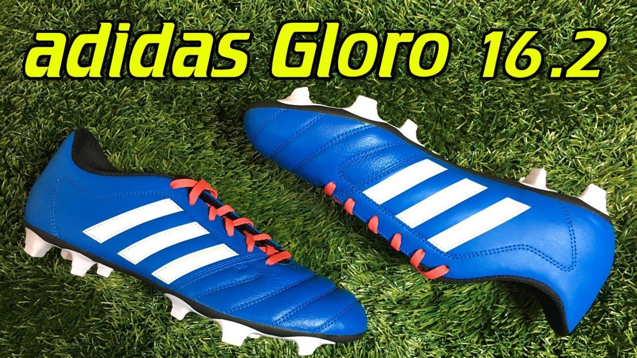 c1cf32098 Adidas Gloro 16.2 Shock Blue - Review + On Feet - YouTube