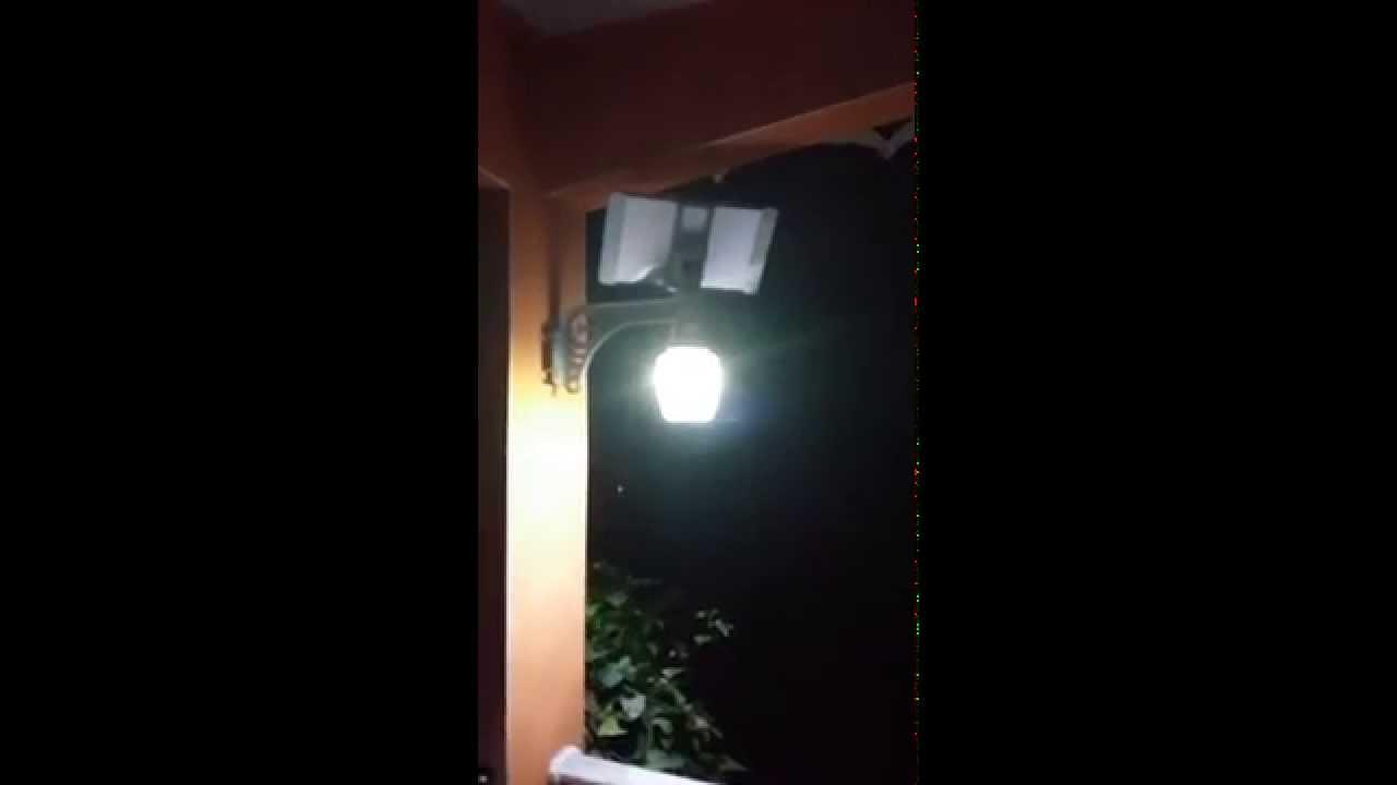 Applique solaire t l commande youtube - Appliques solaires exterieures ...