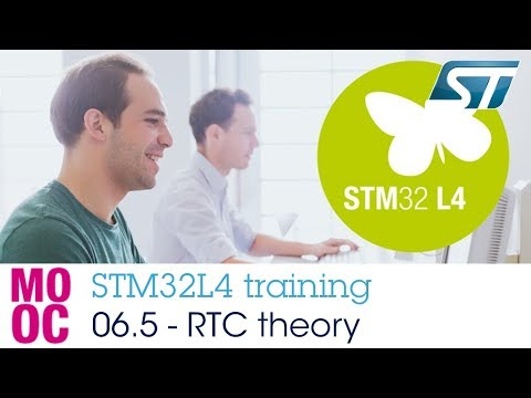 STM32L4 Training: 06.5 Timers - Real Time Clock (RTC) Theory