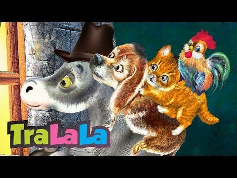 Muzicanții din Bremen -  Povești pentru copii în limba română | TraLaLa