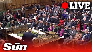 PMQs - Boris Johnson takes questions in parliament | LIVE