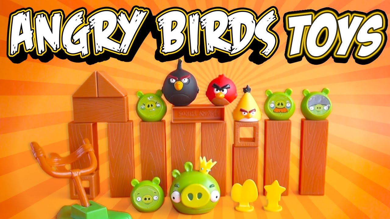 Angry Birds: Knock On Wood Game Playset Real Life Playing Toy in ...