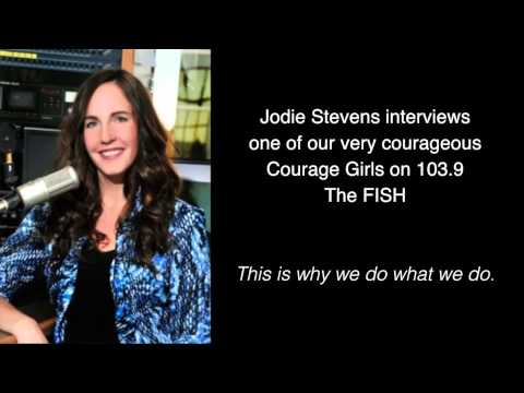 Courage Girl Interview on 103.9 The Fish