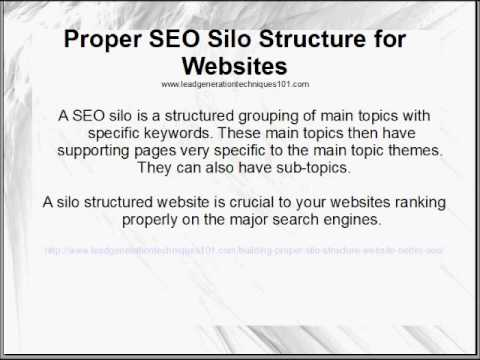 Proper SEO Silo Structure for Wordpress and Websites to Rank