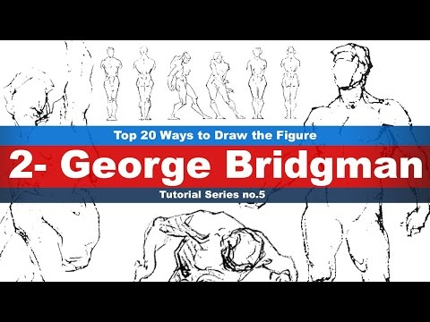 Top 20 Ways to Draw the Figure (2-George Bridgman) Tutorial series No.5