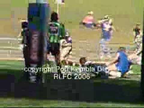 2006 Kane Linnett Try vs Berkeley Under 18 Grand Final