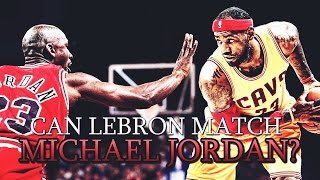 how lebron james can pass michael jordan as goat of the nba