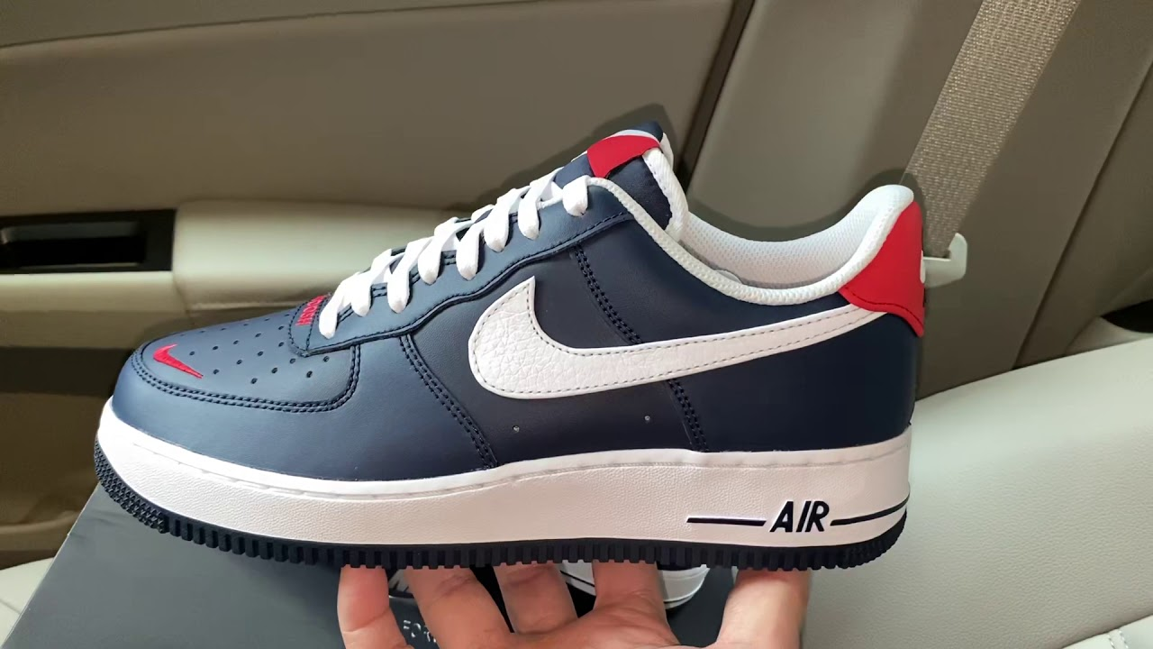 Nike Air Force 1 '07 LV8 USA Swoosh Pack shoes