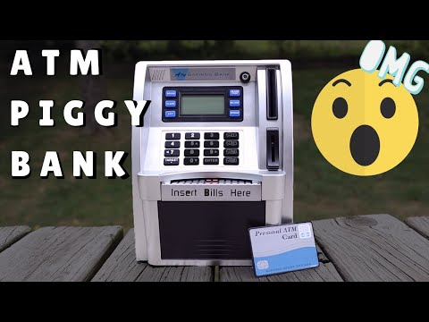 ATM PIGGY BANK - Best Toy For Kids To Save Money