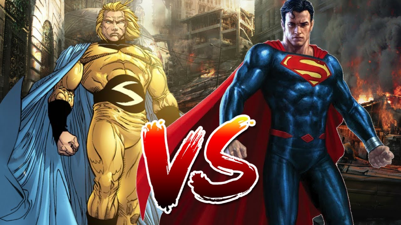 Image result for The Sentry vs superman