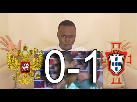Russia vs Portugal 0-1 - All Goals & Highlights - 21/06/2017 HD: Reaction