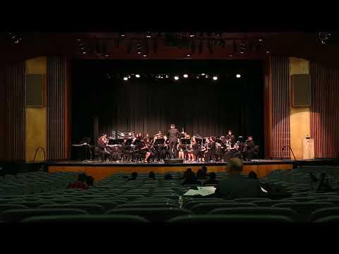 Santiago High School Concert Band - Greensleeves - 3/16/18 GGHS SCSBOA Festival