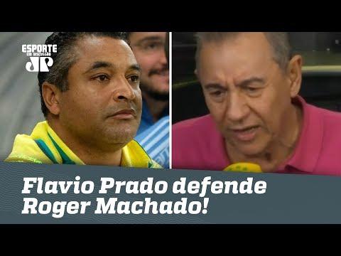Muito Drama? Flavio DESABAFA E DEFENDE Roger Machado!