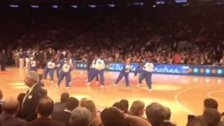 Knicks half time awesome entertainment