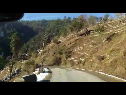 Ride on snow ....  Saraj , Mandi ,Himachal Pradesh