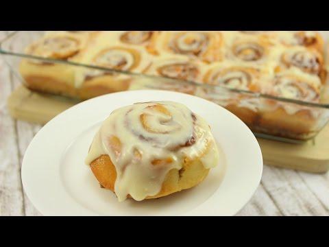 Cinnabon Cinnamon Rolls I saftige Zimtschnecken mit Frosting