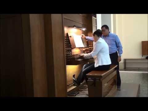 Pontificio Istituto di Musica Sacra-Roma-Esame di Organo